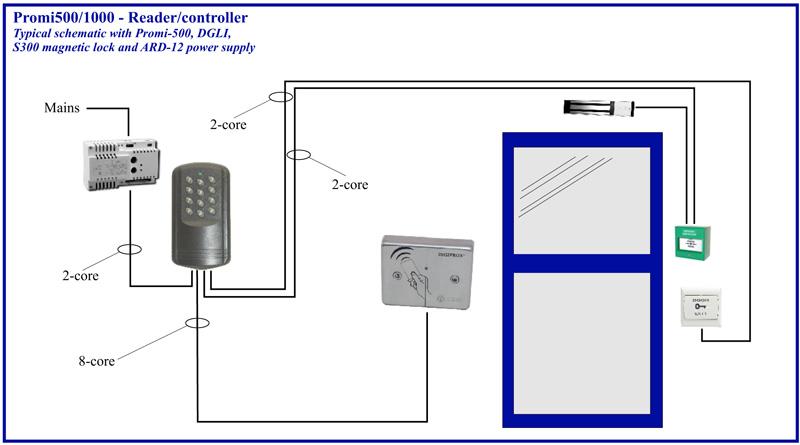 intercom relay wiring diagram
