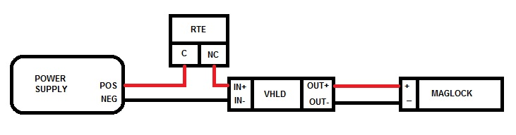 online security products relays timers selection wiring diagram when used maglock