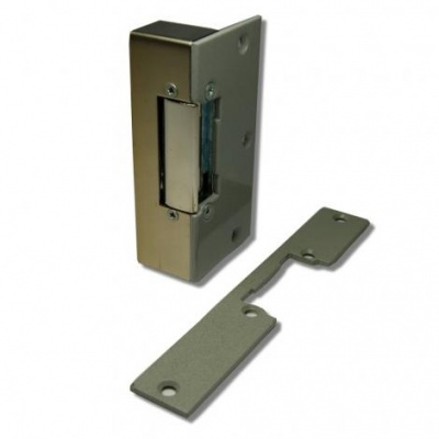 Videx 1N/MP Surface Rim Latch Release 8-12Vac with Mortice Plate
