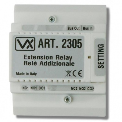 Videx 2305 Programmable Extension/Bus Relay for the VX2300 Systems
