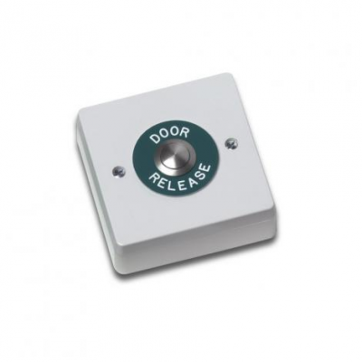 Videx 30G Door Release Plastic Surface with Stainless Steel Push to Exit Button