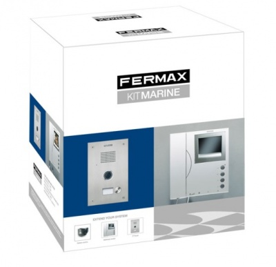 Fermax 5432 1 Way Marine Video Kit with VR panel VDS