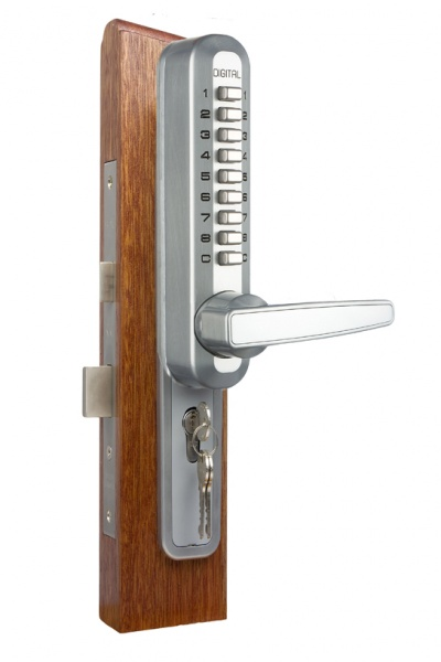Lockey 7075 Super 8 handle with retrofit for lock cases