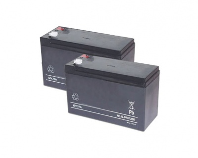 Came BAT2PK-7AH Set Of 2x12V-7Ah Batteries