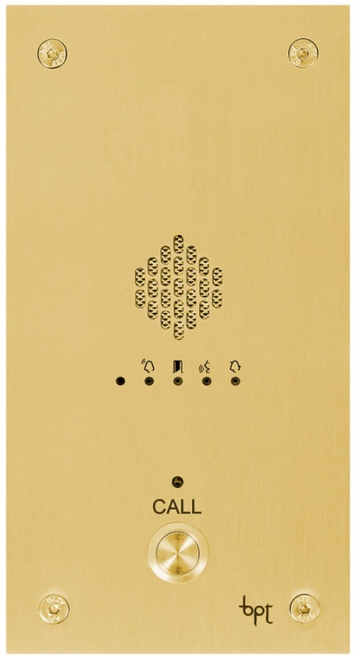 BPT VR Audio Panels System System 200 BRASS