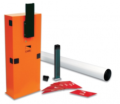 Came GARD6T Complete 24v D.C. Barrier Kit with Tubular barrier arm for road withs of up to 6.5