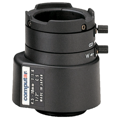 1/2'' CS-M 4.5 - 10.0mm F1.6 - 360 Varifocal Direct Drive, 31cm
