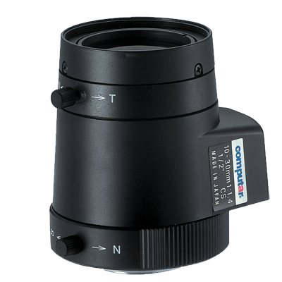 1/2'' CS-M 10.0 - 30.0mm F1.4 - 360 Linear Varifocal video Drive