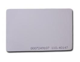 Genie HiD ISO PVC Proximity Card ISO-CARD-H