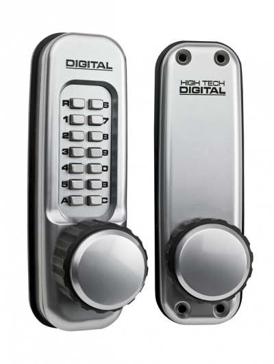 Lockey Digital 1650-SC Heavy duty mechanical lock with knobs