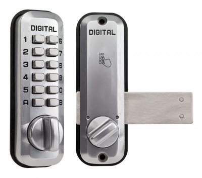 Lockey L220 Code entry, internal surface mounted sliding