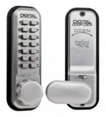 Lockey Digital 2430 Door Locks Latch bolt without Hold Back