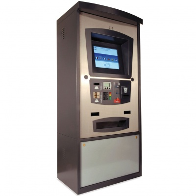 CAME PSC6001 ouch screen automatic payment station galvanised and painted cabinet and panel in staned AISI 304 Steel