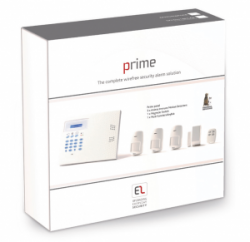 EL Prime Wireless KitPR3 PSTN Dialler & 3 Pet PIR's