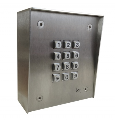BPT X1ACK Panel mounted replacemnt  keypad