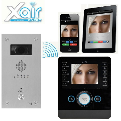 BPT Perla Xair Plus Kit with VR Video entry Panel