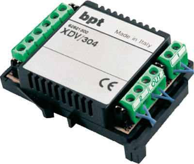 BPT XDV/304 Video Distributor 4 outputs