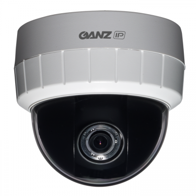 GANZ ZN-D1A 1080p H.264 Indoor IP Dome