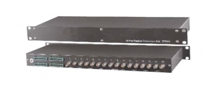 Ganz C-TPA116VR 16CH Input active reciver hub with amp 16 BNC Output