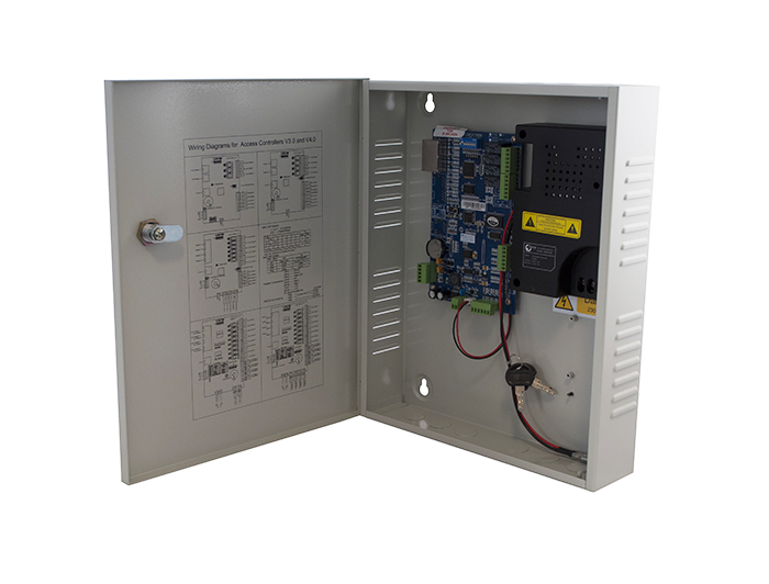 Online security products genie access dc22 ip 2 door for Door access controller