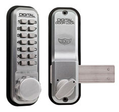 Lockey Digital 2200 Door Lock with Sliding bar
