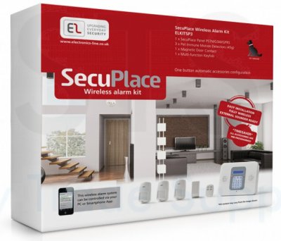EL SecuPlace kitSP3 GSM/PSTN 3 detector kit no sounder