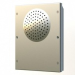 Videx 8203-0 Speaker Unit with 0 Button Available in Stainless Steel or Aluminium