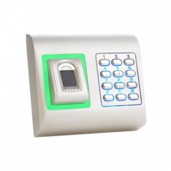 Videx BIOPADS-M Surface Mount Silver Finger Print and Coded Access Reader