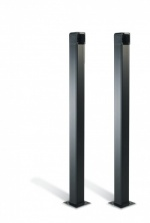 Came CSSN Black anodised aluminium Post 1m