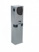 Came G3751 24v barrier in AISI 304 Stain-Finished steel unit with built-in control panel
