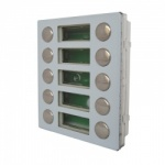 Videx 4845D 10 Call Buttons Double Row Expansion Module