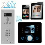 BPT OPALE Xair Kit with VR Video entry Panel and keypad