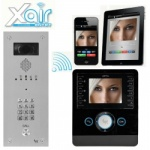 BPT Perla Xair Kit with VR Video entry Panel and keypad