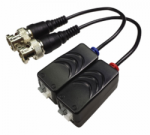 Balun King HD-TVI Mini CAT5 Video Balun with pigtail twin pack
