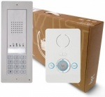 BPT Thangram 1 button kits with Perla handsets and keypad