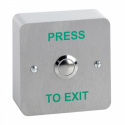 SSP SPB002 Stainless Steel Door Release Buttons 19mm