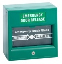 Surface Mount Green Break Glass Unit With Change over Contact