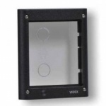 Videx 4851 1 Module 4000 Series Flush Mount Box In Grey