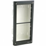 Videx 4852  2 Modules 4000 Series Flush Mount Box Grey