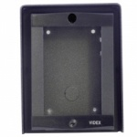 Videx 8881/BL 8000 Series 1 Module Black Surface Frame