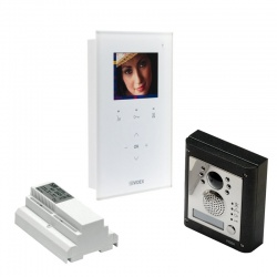 Videx Kristallo 2 wire colour video hands free kits