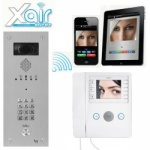 BPT Agata Xair Kit with VR Video entry Panel and keypad