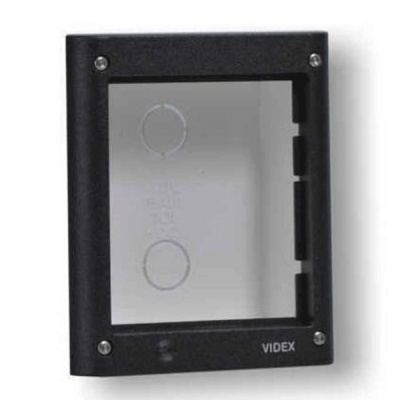 Videx V-4851/G Series 1 Module Flush Mount Box With Gold Frame