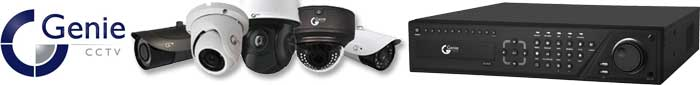 Genie CCTV authorised distributor