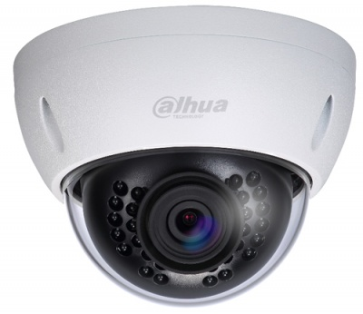 Dahua HAC-HDBW2241E-0280 4MP Starlight HDCVI-CVBS VR Dome Camera 2.8mm 30m IR Audio in IK10 12VDC