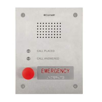 Comelit 3460EA Audio Entrance Panel For Emergency VIP