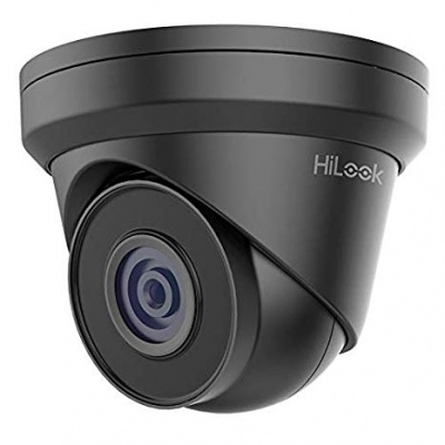 HiLook by Hikvision IPC-T240H 2.8mm Grey 4MP IP Turret network Camera 30m IR POE