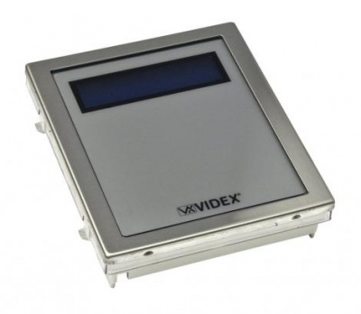 Videx 4820 LCD Display/Voice Annunciation Module for 4000 Series Modular Systems