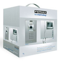 Fermax 4984 1 Way Colour VDS Memovision City kit with keypad