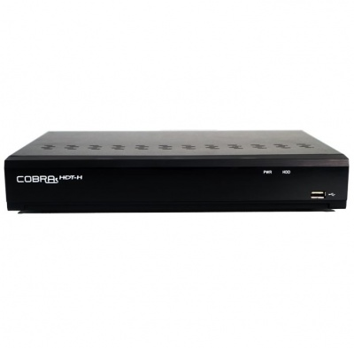 Cobra Compact HDT-H 4 Channel HD-TVI, AHD and Analogue DVR